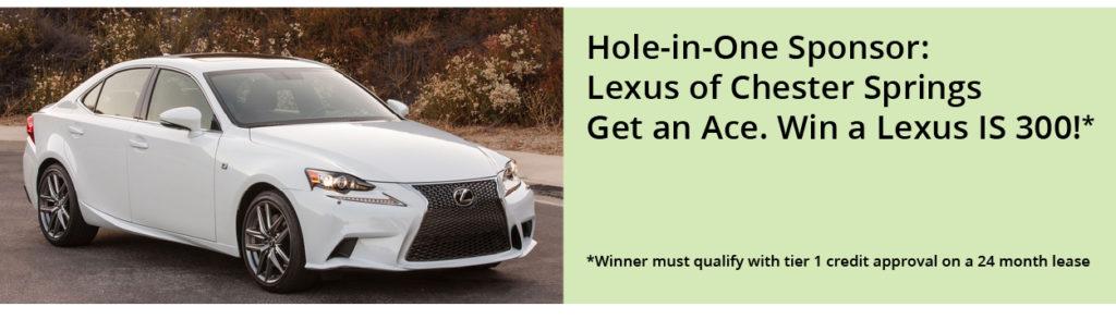 Lexus CS sponsors Handi-Crafters